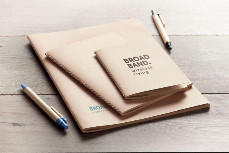 Eco bilježnica od recikliranog papira
