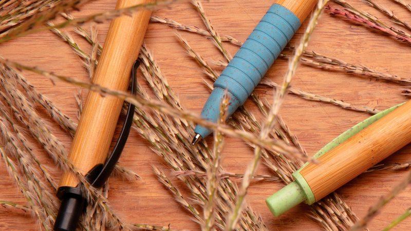 Eco kemijska olovka od bambusa i pšenične slame