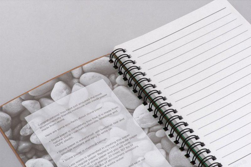 Eko bilježnica Stonebook