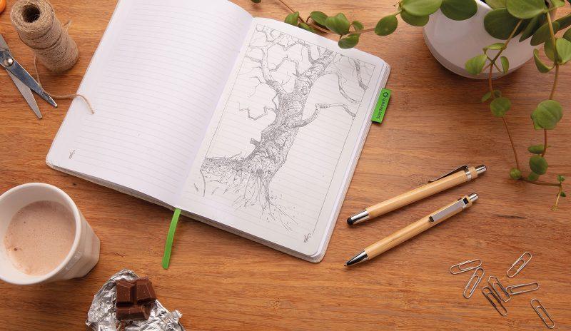 Ekološki set za pisanje Bamboo