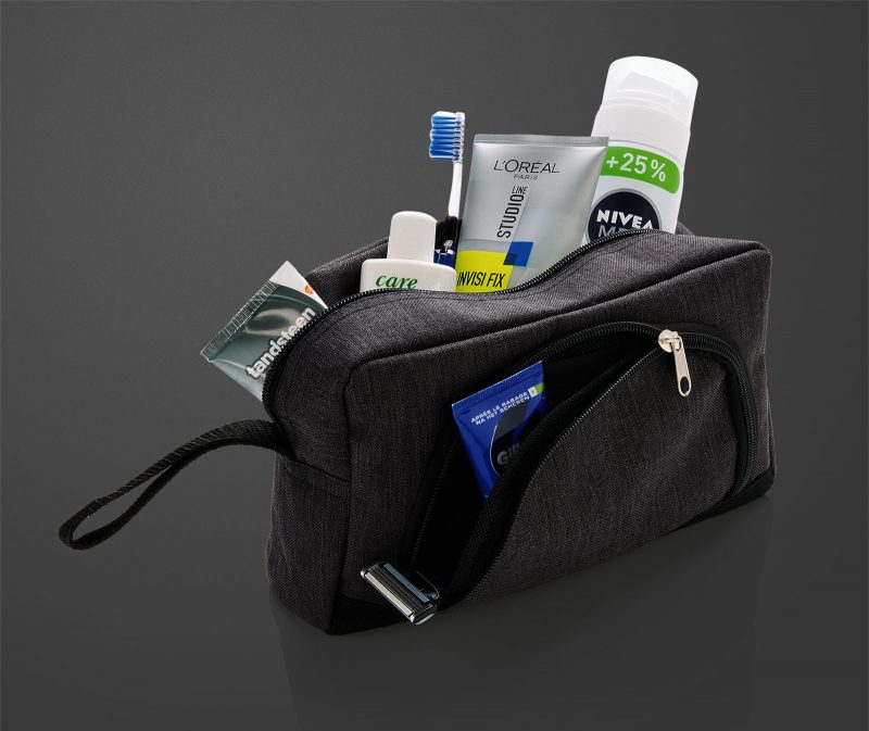 Dvobojna promotivna torbica za kozmetiku