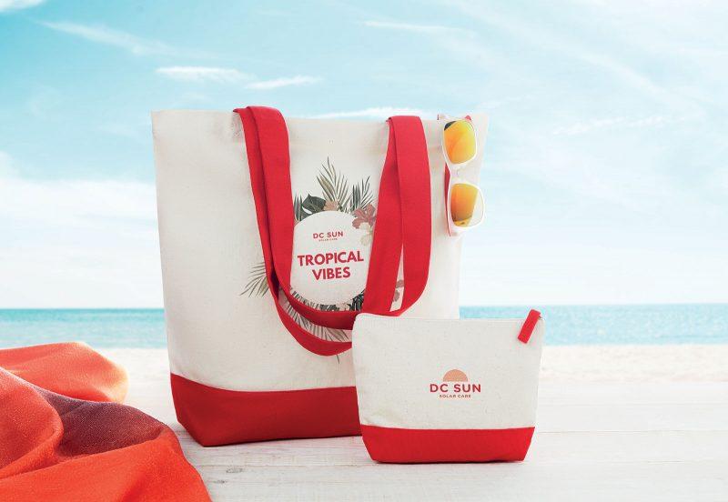 Eco kozmetička torbica Kleuren
