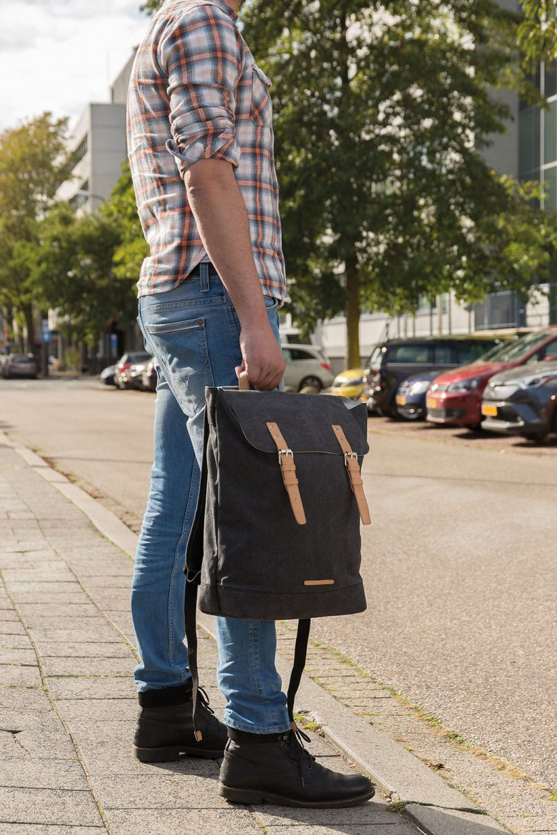 Eco ruksak za laptop Canvas