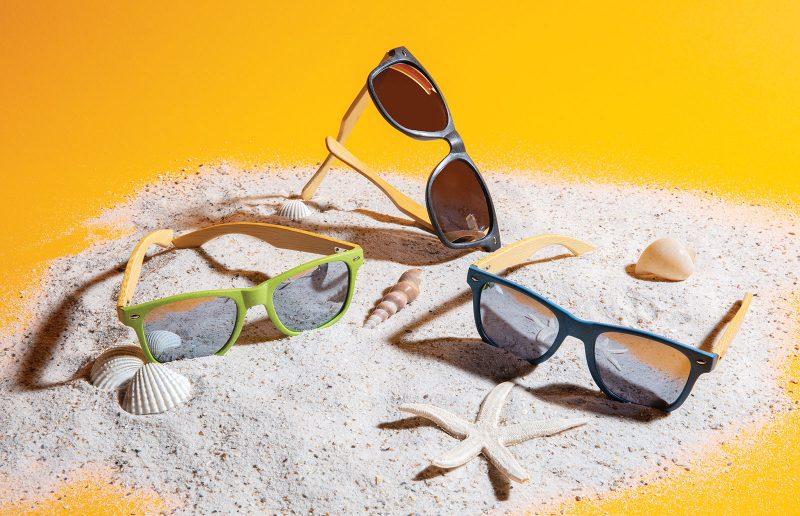 Eco sunčane naočale od bambusa i pšenične slame