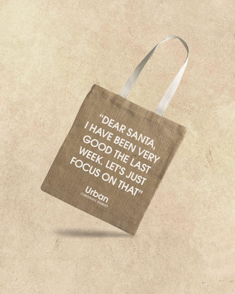 Eco torba od jute za kupovinu