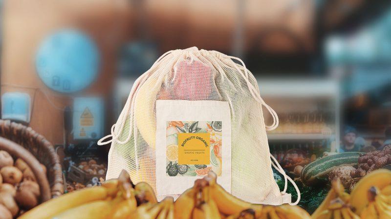 Pamučni eco promotivni ruksak Trou bag