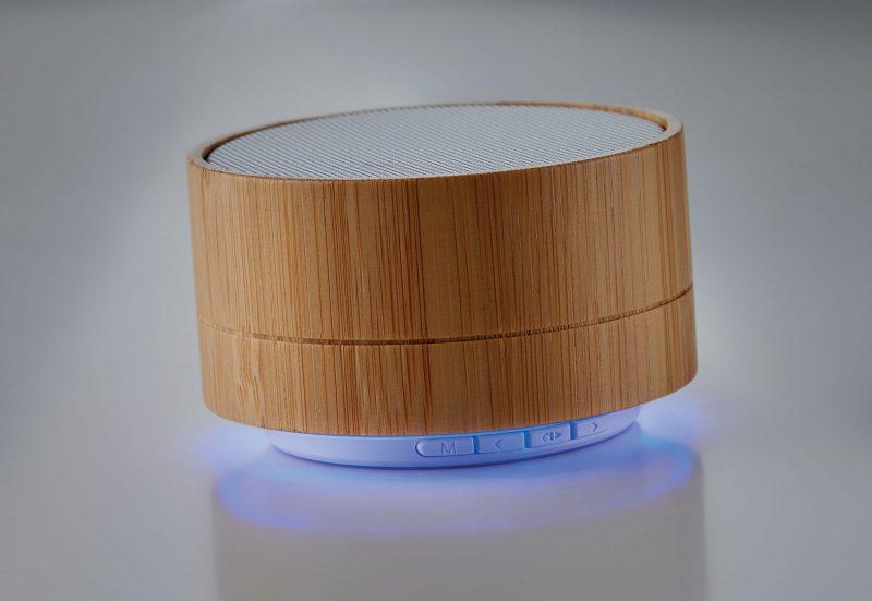 Promotivni eco bluetooth zvučnik od bambusa