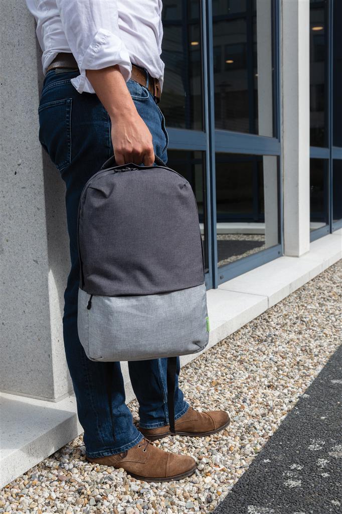 Promotivni eco ruksak Duo color od RPET materijala