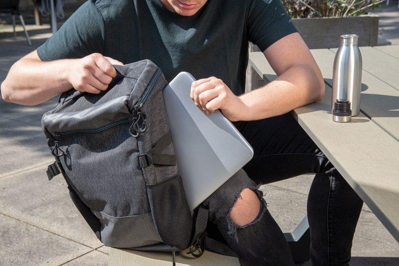 Promotivni eco ruksak za laptop 900D