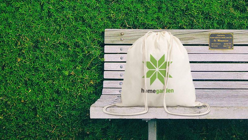 Promotivni pamučni eco ruksak Hundred
