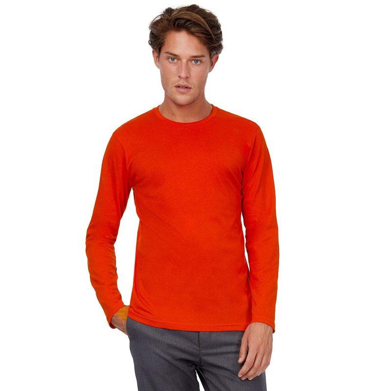 Muška majica dugih rukava Inspire LSL T B&C