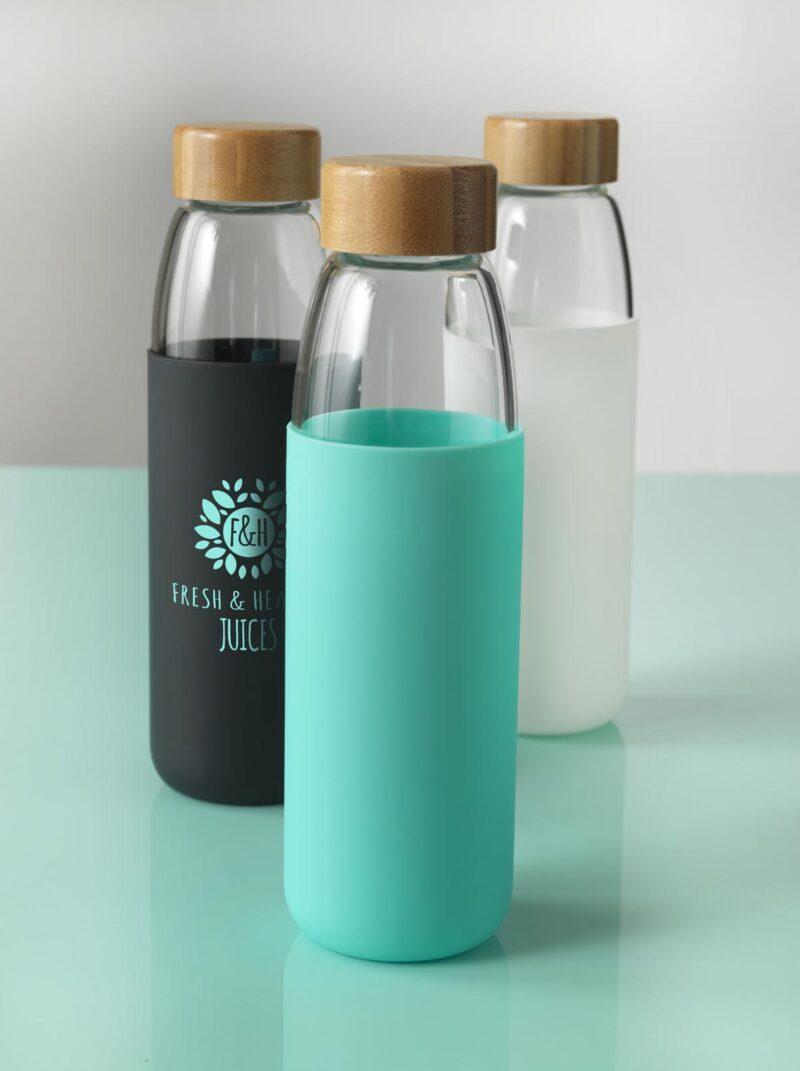 Promotivna boca s drvenim čepom Kai, 540 ml