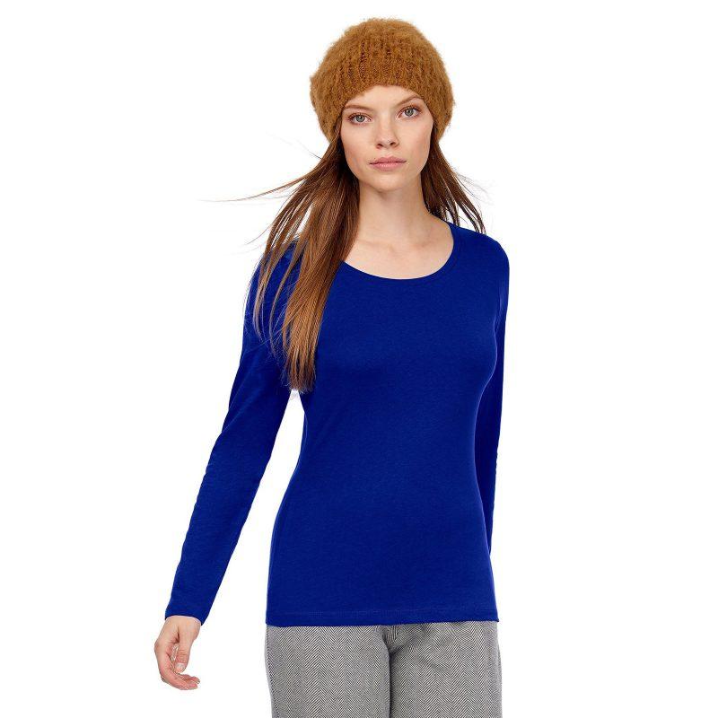 Ženska majica dugih rukava Inspire LSL T B&C