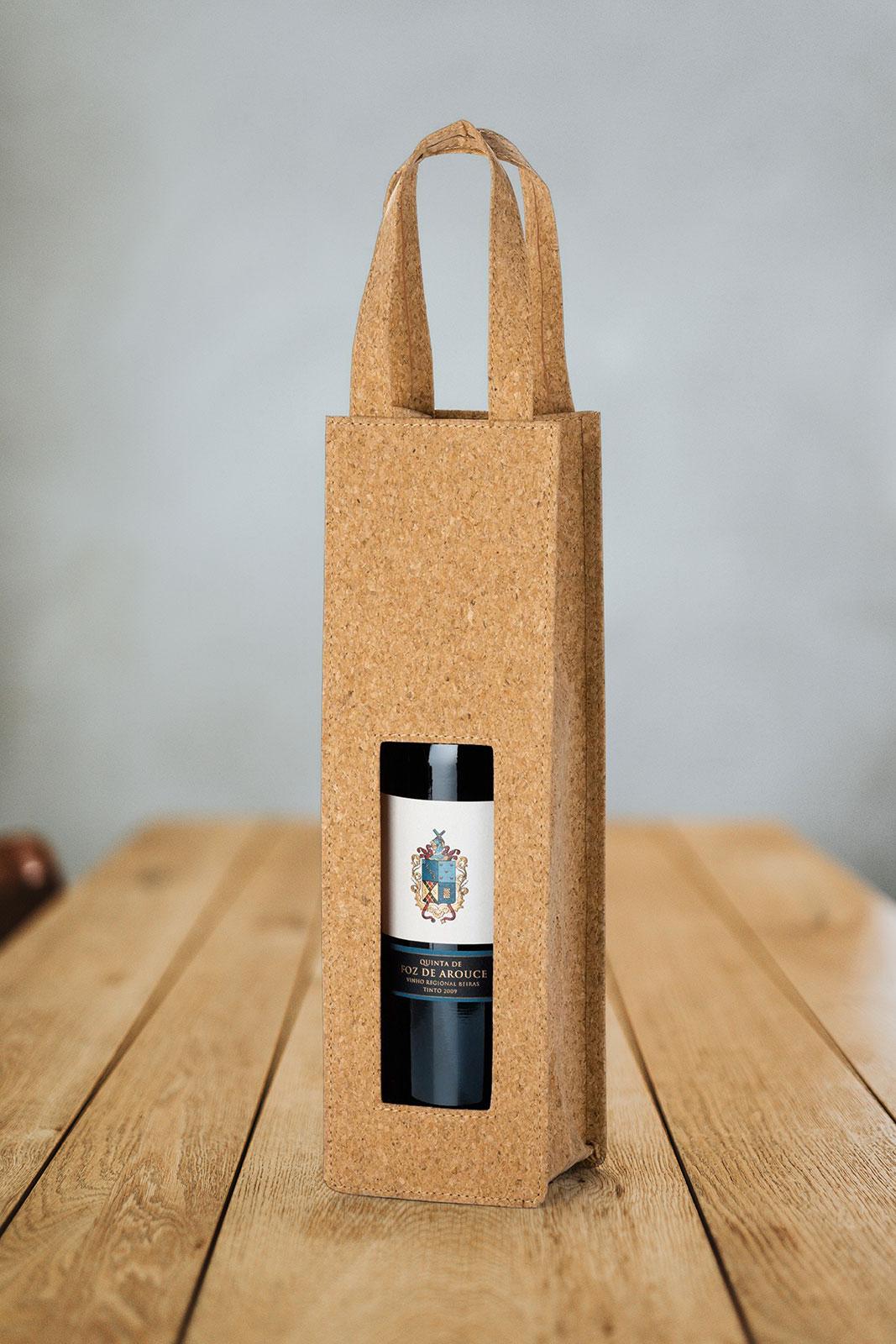 Promotivna vrećica za vino od pluta Borba