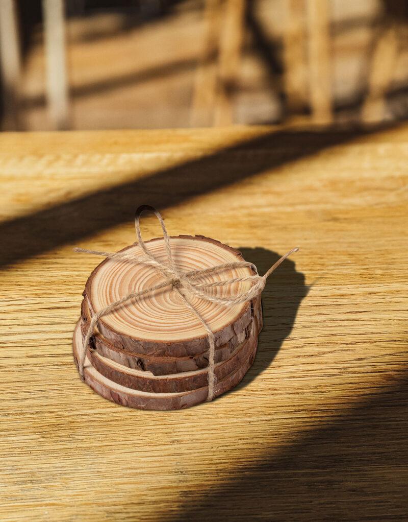 Promotivni set drvenih podložaka Yantic