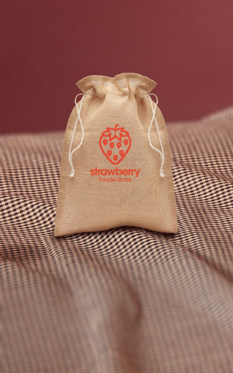 Mala promotivna poklon vrećica Jute Small