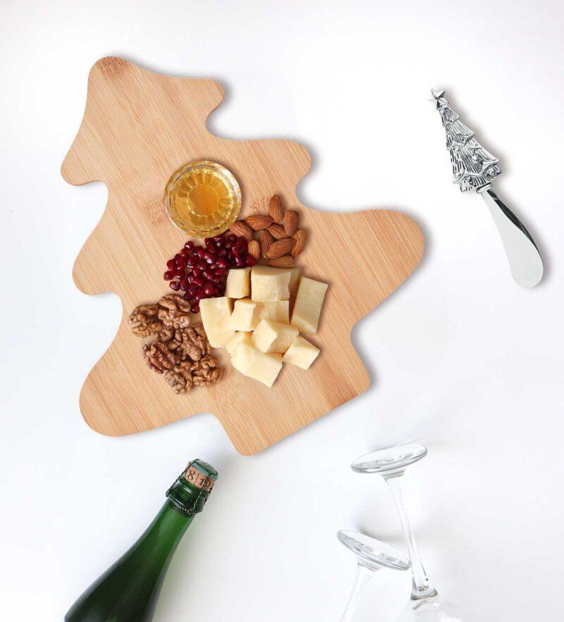 Promotivna daska i nož za sir Treecheese