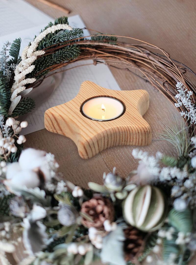Promotivni božićni svijećnjak Teastar