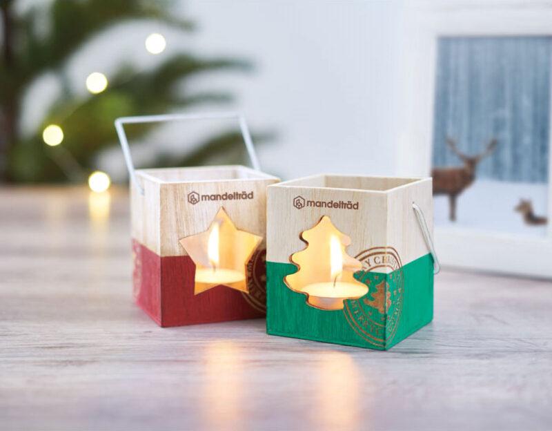 Promotivni božićni svijećnjak u obliku drvca Poster Light