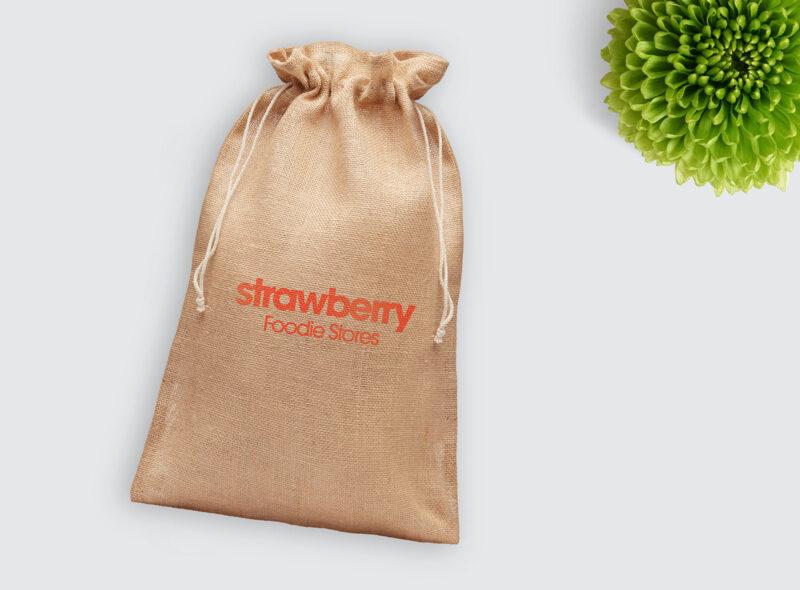 Velika promotivna poklon vrećica od jute Jute Large